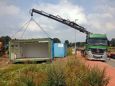 Büro- CONTAINER- TRANSPORT,Baucontainer, Wohncontainer,  See-Container