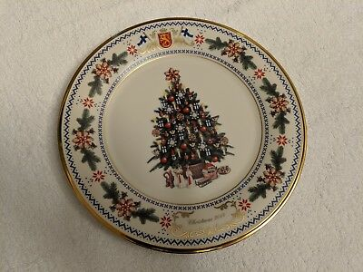Lenox 2014 annual holiday Christmas tree collectors plate