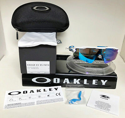 1bde3c4cb1 Oakley RADAR EV XS PATH YOUTH POLISHED WHITE   SAPHIRE IRIDIUM OJ9001-0131