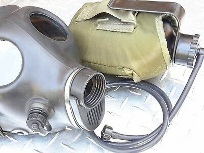 Isreali IDF Gas Mask Ready-2-Use ADULT Kit w/Drink System/Canteen/Filter/ProKI