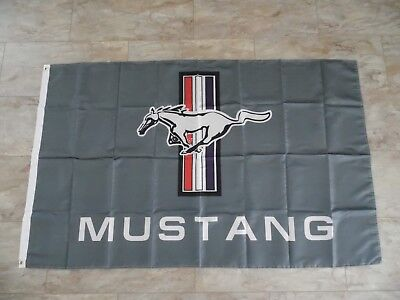 Ford Mustang Fahne - Flag - ca. 150 x 90 cm - Ford - Auto - Flagge