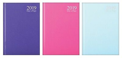 2019 Diary A4/A5/A6 Page a Day / Week to view Casebound Pastel Fashion Diary