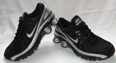 new arrival 5d938 ce906 Mens Black  Silver Vintage 2008 NIKE Shox Turbo VII Sneakers Shoes ...