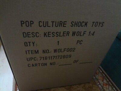 Werewolf Pop Culture Shock Sideshow Limited & Exclusive Kessler Wolf Statue !