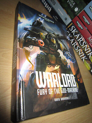 SIGNED David Annandale WARLORD: FURY OF THE GOD MACHINE 1stHB MINT Warhammer 40K
