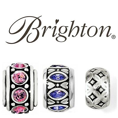 Brighton Jewelry Charm Bracelet Stoppers New And Retired Fine Silver Plated