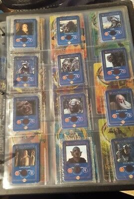 Lord of the Rings lays hero and villians cards (poland)