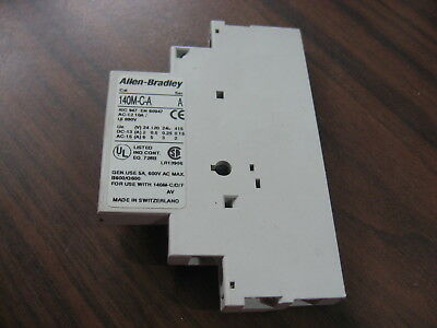 Allen Bradley 140M-C-A SA11 Auxiliary Contact