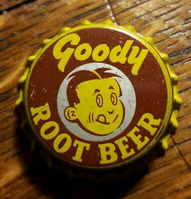 GOODY ROOT BEER soda bottle cap unused cork crown