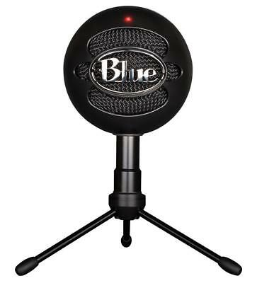 Authorized Dealer Blue Microphones Snowball iCE USB Condenser Microphone (Black)