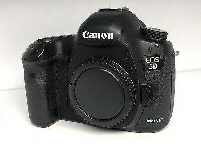 Canon EOS 5D Mark III 22.3MP - Black (Body Only) 16000+ Shutter Count