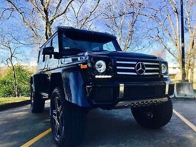 2017 Mercedes-Benz G-Class 4 x 4 Squared Mercedes G550 SQUARED RARE GLOSS BLACK Best color and the only one for sale!