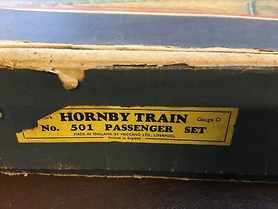 hornby o gauge track And Carriages No Loco