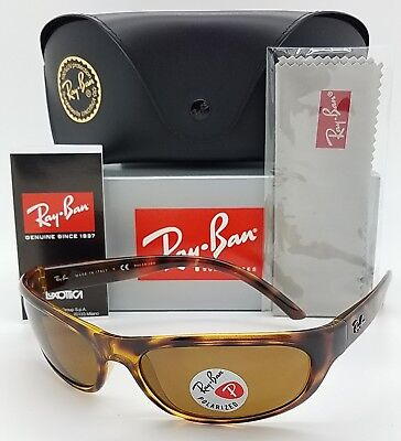 1a086b393d NEW Rayban RB4033 642 47 sunglasses Tortoise Brown Polarized 4033 AUTHENTIC  wrap