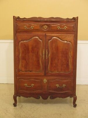 F45282EC: French Provincial Style Cherry Gentlemen's Chest
