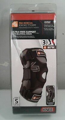 113a8b548a Shock Doctor 875 Ultra Knee Support With Bilateral Hinges Hinged Brace Small