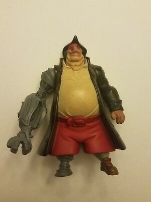 "2002 Cyborg John Silver 4.5"" McDonald's Action Figure #4 Disney Treasure Planet"