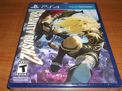 NEW GRAVITY RUSH 2 Playstation 4 PS4 Game