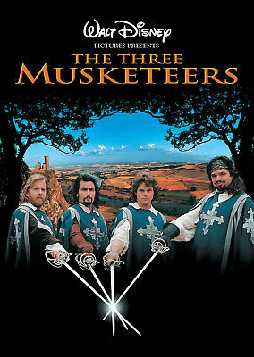 35mm Movie Feature Film THE THREE MUSKETEERS 1993