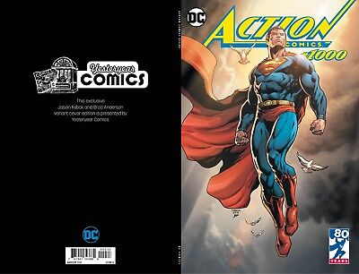 Action Comics #1000 Yesteryear Comics Jason Fabok variant.