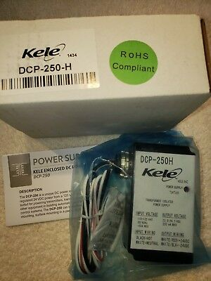 Kele DCP-250-H Transformer Isolated Power Supply, NEW