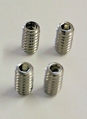 FCS FIN Grub Screws - Stainless Steel, Surfboard, Mal, Fin Plug Screws