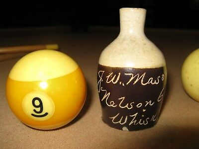 J. W. Mason Mini Scratch Jug-Nelson Co. Ky Whiskey