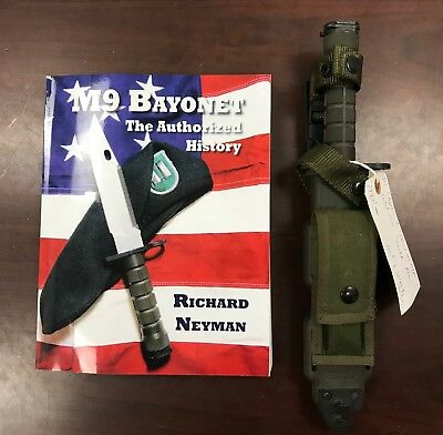 Phrobis M9 Bayonet 1992 RARE media blasted Buck Model 188 in BOOK Chapter 11
