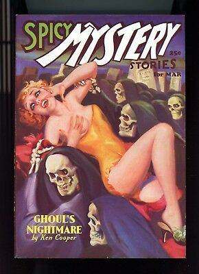 Pulp: Spicy Mystery, March 1936 - the pulp plus a near-mint extra cover