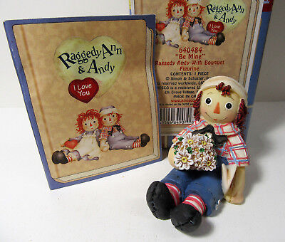 Ragedy Ann and Andy ~ BE MINE ~ Enesco Figurine