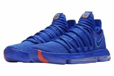 promo code 412a2 c1a3a Nike Men s Zoom KD10 City Edition Racer Blue 897815 402 GS Warriors DOUBLE  BOXED