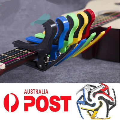 Luxury Guitar Capo Spring Trigger Electric Acoustic Clamp Quick Change Release