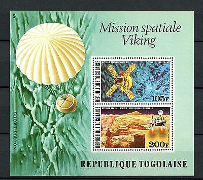 Togo - 1976 - Space - Viking Mission To Mars - Lander ++ Mint - Mnh S/sheet!