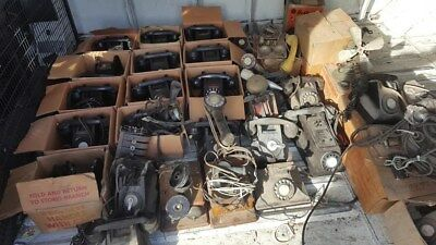 OLD TELEPHONES over 35with parts +