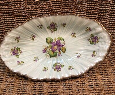 Crown Ducal Oval Serving Plate #30772 England
