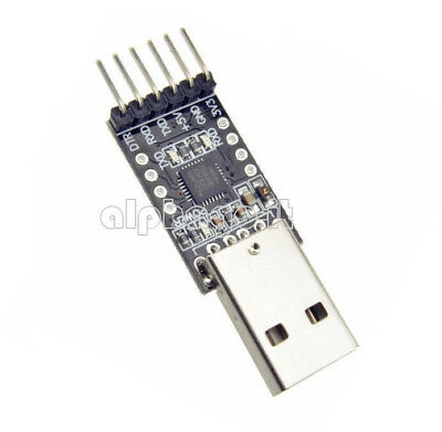 2/5/10PCS 6Pin USB 2.0 to TTL UART Module Converter CP2102 STC Replace FT232