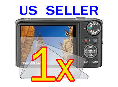 1x Canon PowerShot SX260 HS Camera LCD Screen Protector Cover Guard Shield Film