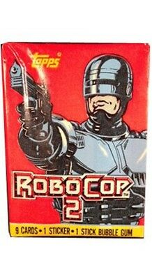 Robo Cop2 Trading card Booster pack