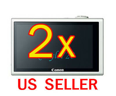 2x Canon PowerShot ELPH 530HS Camera LCD Screen Protector Cover Guard Shield