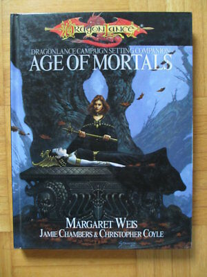 DRAGONLANCE Companion Age of Mortals SVP-4001 HARDCOVER – English Dungeons & Dra
