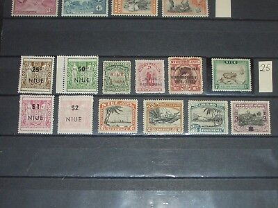 Niue stamps all mint