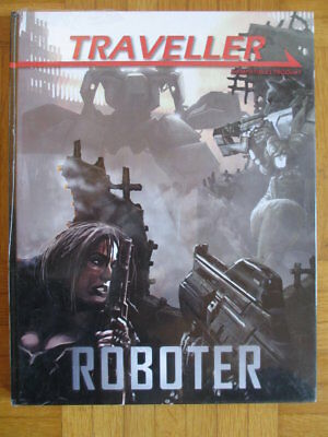 New Sealed Traveller Roboter – Deutsch Hardcover 13M 2101 Mongoose Publishing Ma