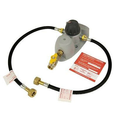 Clesse Compact 100 Automatic Changeover LPG Propane Gas Regulator Kit - ROI