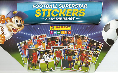 Figurine Calciatori Panini Family Football Superstar Stickers Russia Wc Kellogg