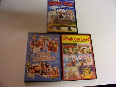 Huge Dvd Lot Of 15 Comedies  Includes Joe Dirt/ Benchwarmers/ Loser...