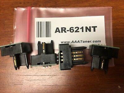 4pk AR-455NT Toner Chip for Sharp AR-M350//M355//M450//M455N//U Copier Refill