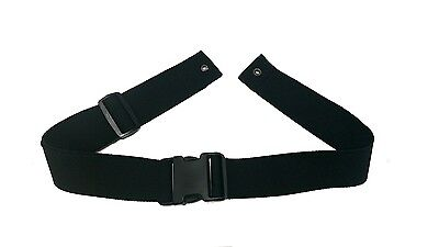 Lap Strap Seat Belt for Wheelchair fits G Lite, Z-Tec, Alulite, Most Wheelchairs