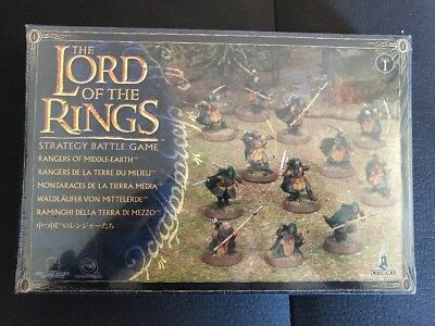 Lord Of The Rings Strategy Battle Game Rangers Of Middle-Earth BRAND NEW SEALED