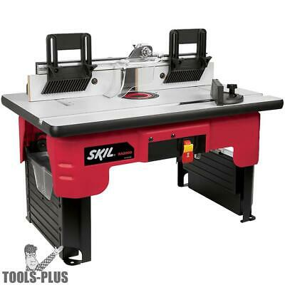 Skil RAS900 26 in. x 16-1/2 in.Router Table with 2 Integrated Storage Boxes New