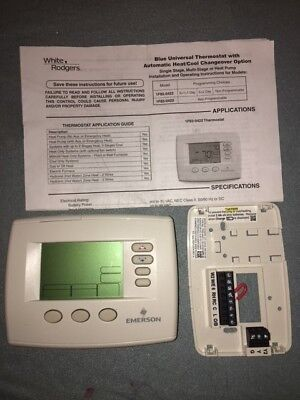 White-Rodgers Programmable Thermostat 7 day OEM 1F85-0422